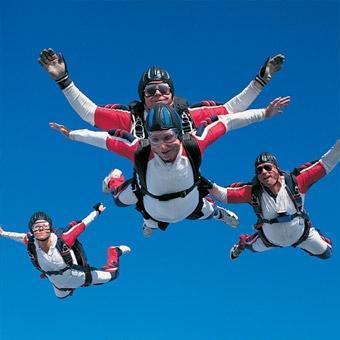 Tandem Skydiving in San Francisco