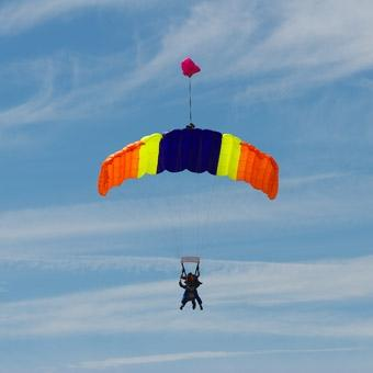 Tandem Skydiving in Cleveland