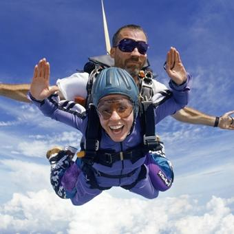 Tandem Skydiving in Richmond