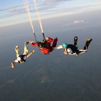 Accelerated Free Fall in Richmond