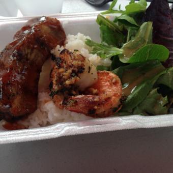 Samples on the Hawaiian Food Tour