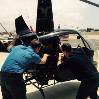 Fly a Helicopter in San Diego