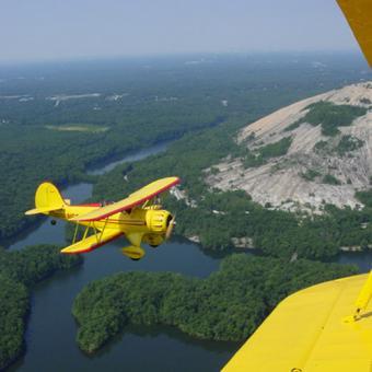 Scenic Biplane Ride  over Atlanta