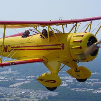 Scenic Biplane Ride near Atlanta