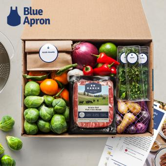 Blue Apron Meal Delivery Plan