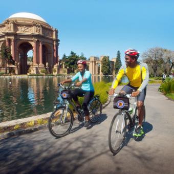 Explore Sausalito on Bikes