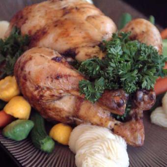 Roasted Chicken Dinner in San Diego