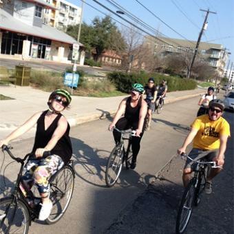 Bike and Chew Tour in Austin
