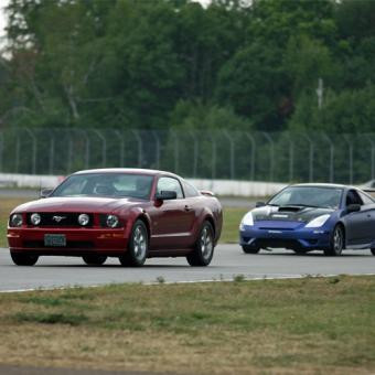 Drive your own car on Brainerd International Raceway