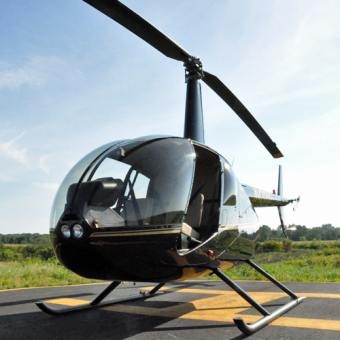 Robinson R44 Helicopter Tour of Boston