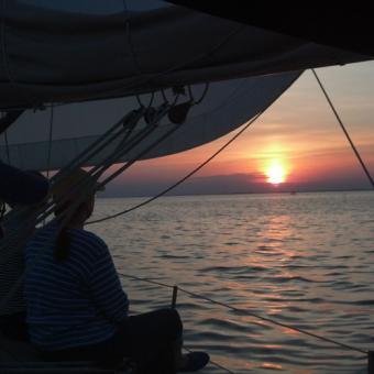 Beautiful Sunset Sail on Chesapeake Bay