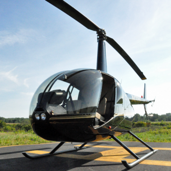 Flight Lesson in R44 Helicopter