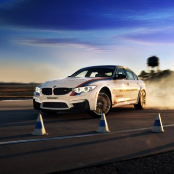 los angeles: bmw performance driving school | cloud 9 living