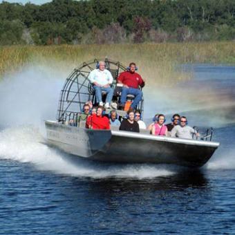 Airboat Swamp Safari in Orlando
