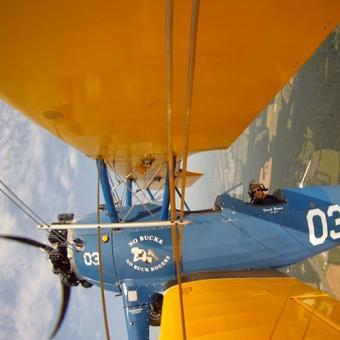 Biplane Flight