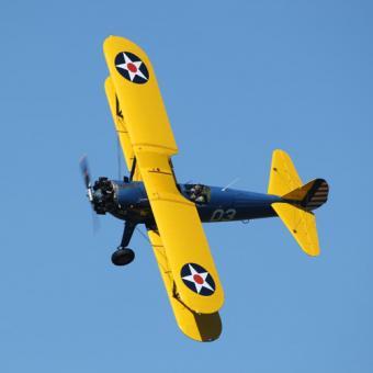 WWII Historic Biplane