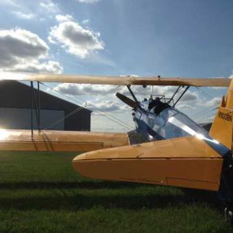 Aerial Thrill Ride in a Vintage Biplane near Minneapolis