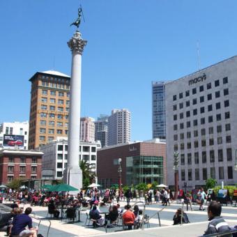 San Francisco Photography Lesson Union Square
