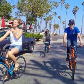 Santa Barbara Guided Bike Tour with Beverage Tastings