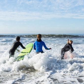 Private Surf Lesson Santa Barbara