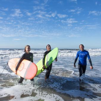 Private Southern California Surf Lesson
