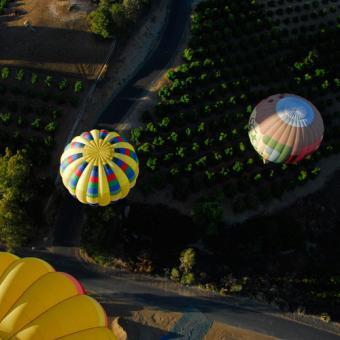 Morning Balloon Flight in Temecula