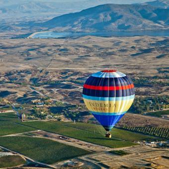 Sunrise Balloon Ride near Orange County