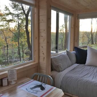 Tiny House Interior in South Cairo, New York