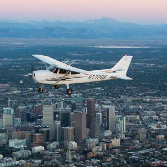 Flight Lesson in Denver
