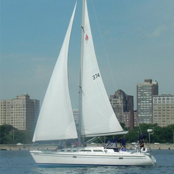 Lake Michigan Sailing Charter in Chicago
