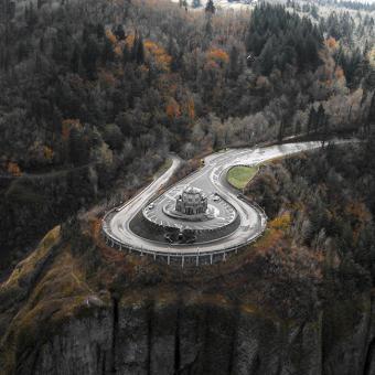 Columbia River Gorge Aerial Tour
