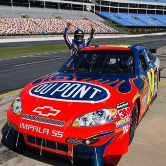 NASCAR Ride Along at Dover International
