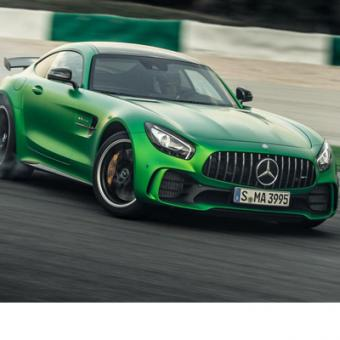 Drive a Mercedes AMG GT R at Las Vegas Motor Speedway