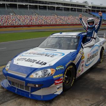 Driving a NASCAR