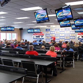 Classroom for NASCAR experience