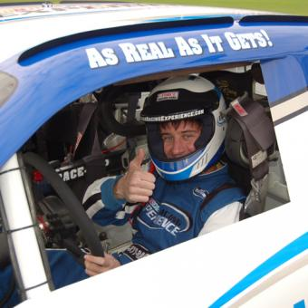 Behind the Wheel of a NASCAR