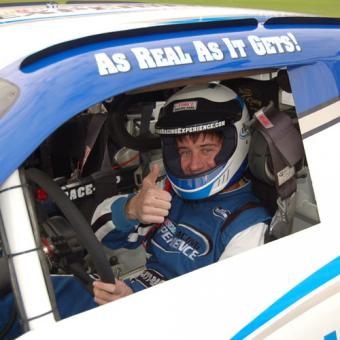 NASCAR experience at Daytona