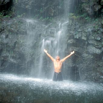 Waterfall Shower on Maui