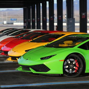 Lamborghini Racing in Las Vegas
