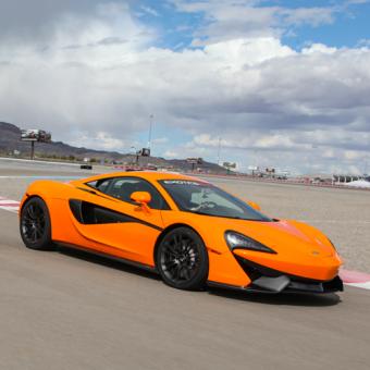 Drive a McLaren in Vegas
