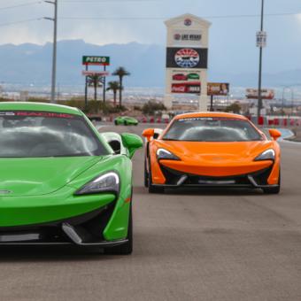 Drive a Sports Car in Vegas