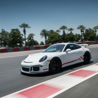 Race a Porsche at Auto Club Speedway