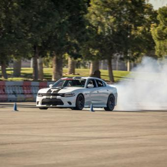 Drifting Experience in a 707 HP Dodge Hellcat