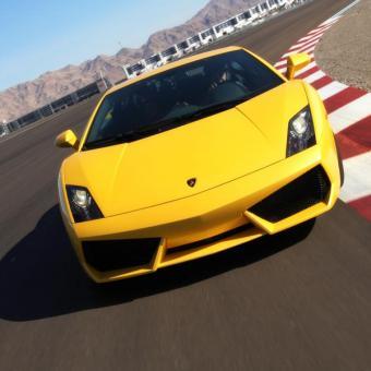 Orange County Race a Lamborghini
