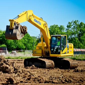 Control an Excavator in Minneapolis