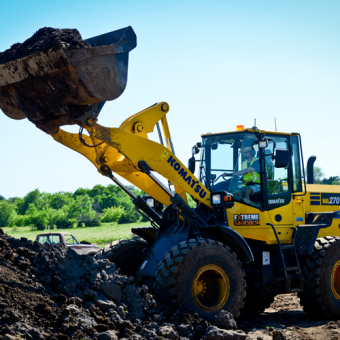 Operate a Wheel Loader