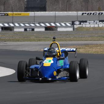 Formula 2000 Race Car in New York