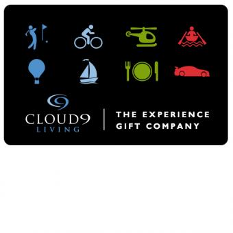Experience gift certificates unique gift cards for activities cloud 9 living gift certificate negle Images