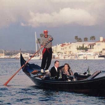 Romantic Gondola Cruise in Coronado near San Diego, CA