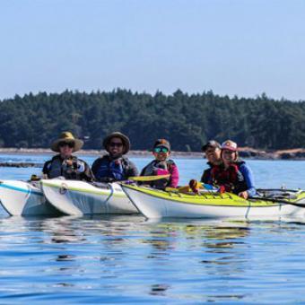 Group Griffin Bay Kayak Tour San Juan Island